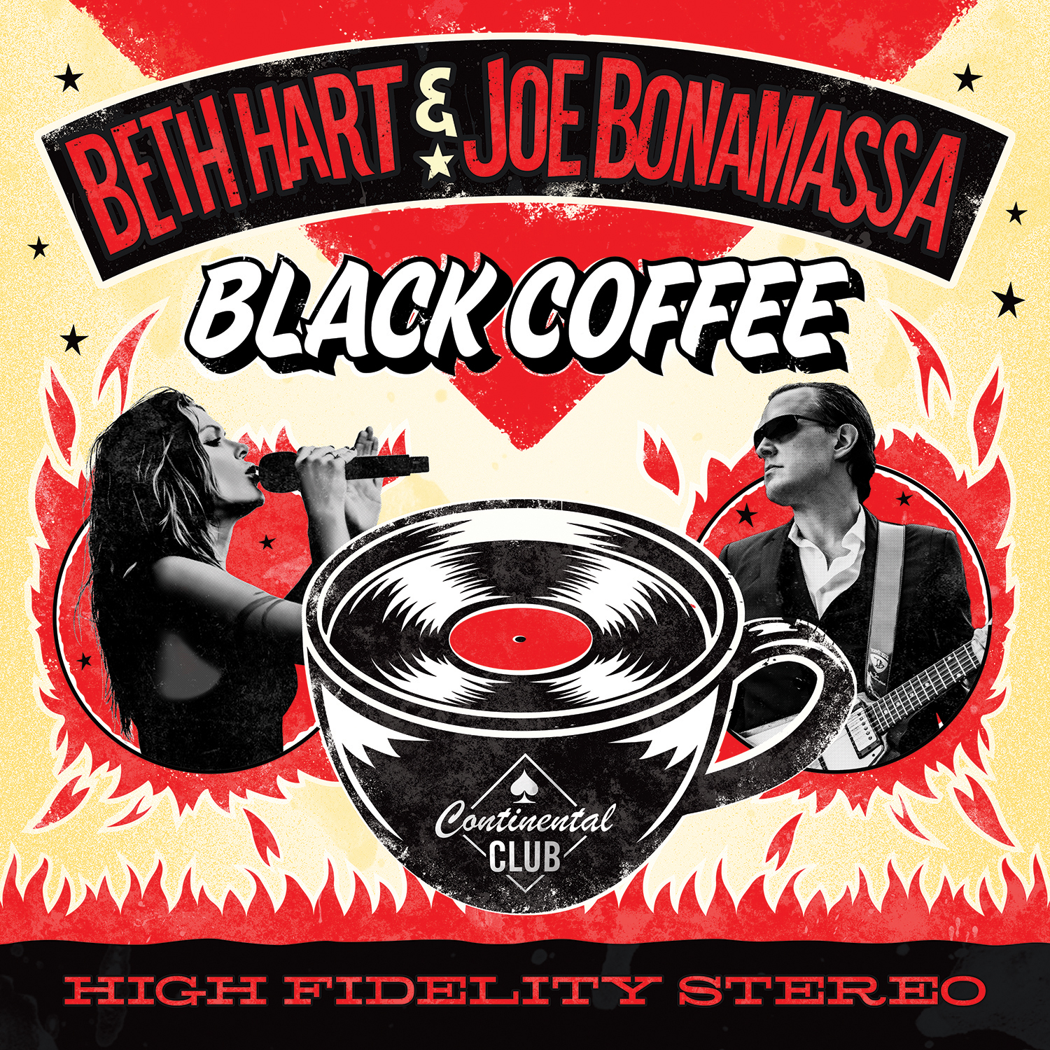 <h5>Beth & Joe<br>Black Coffee</h5>