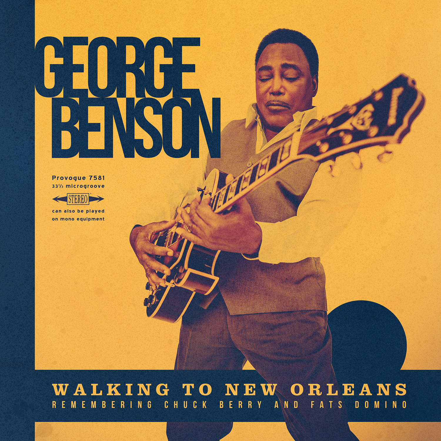 <h5>George Benson<br>Walking to New Orleans</h5>