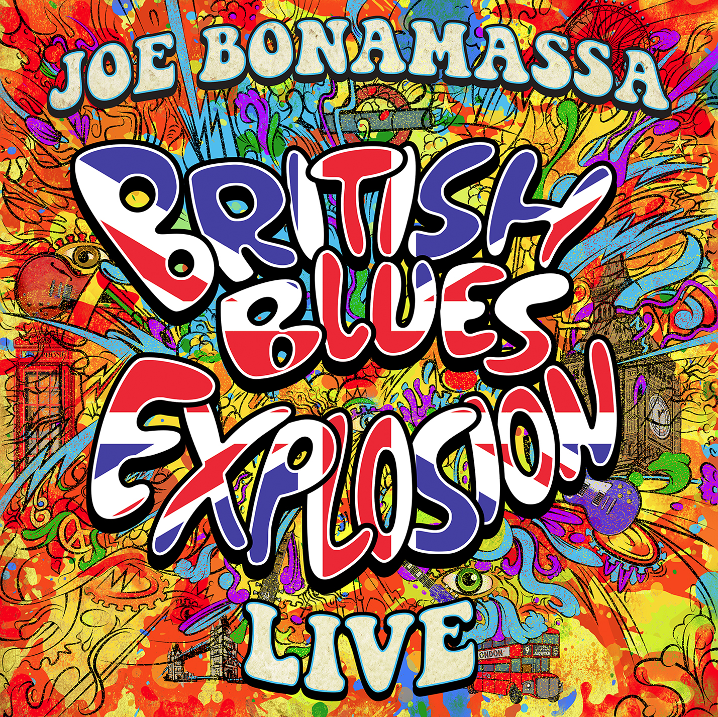 <h5>Joe Bonamassa<br>British Blues Explosion Live</h5>