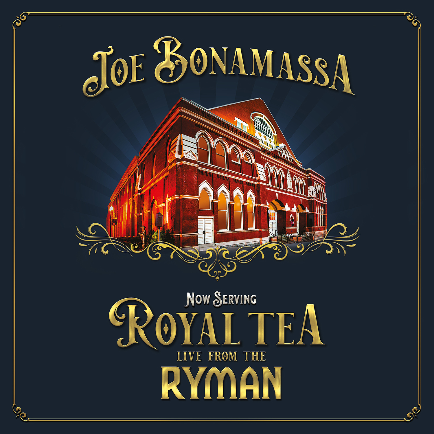 <h5>Joe Bonamassa<br>Now Serving: Royal Tea Live From The Ryman</h5>