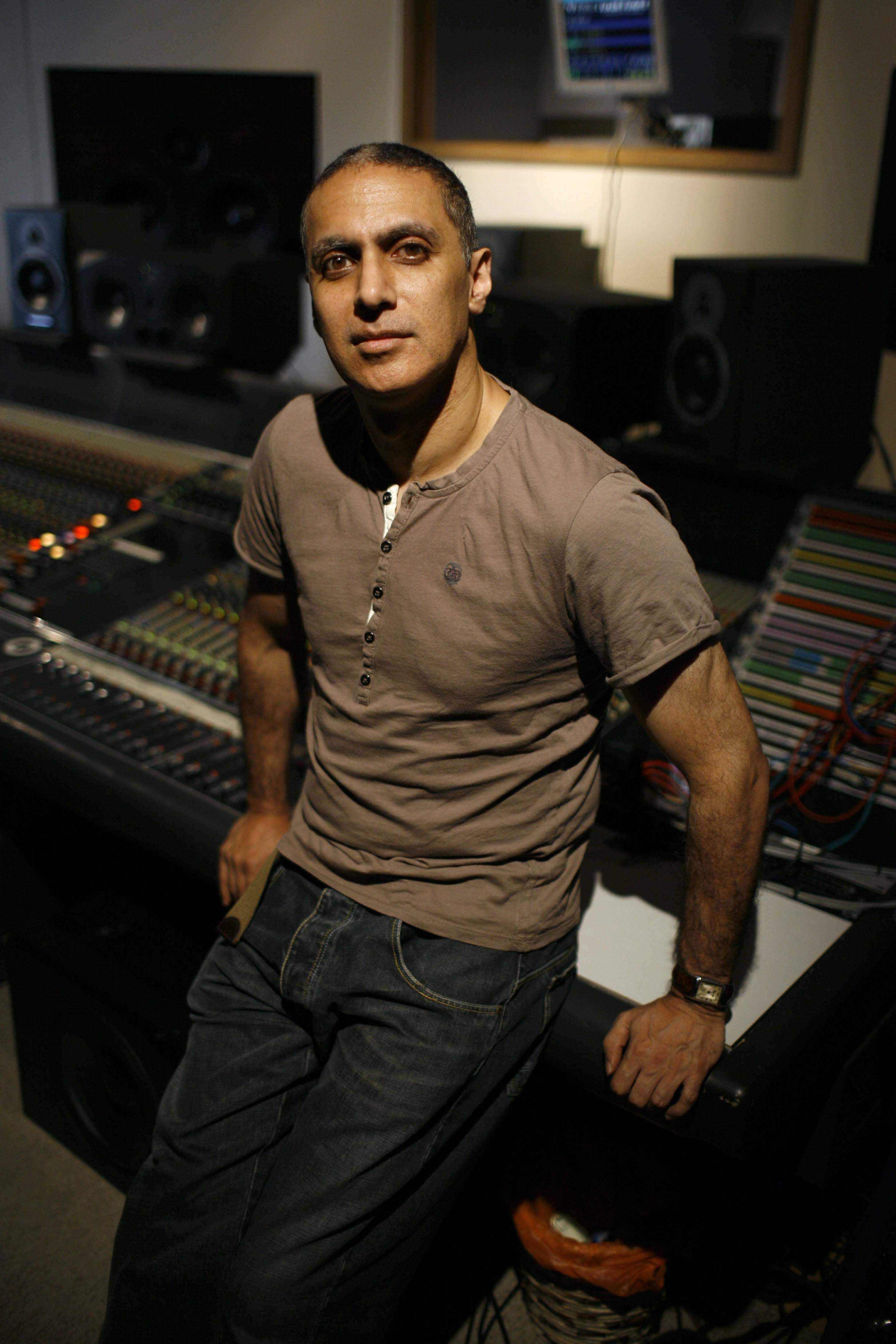 Nitin Sawhney (by Justin Sutcliffe)