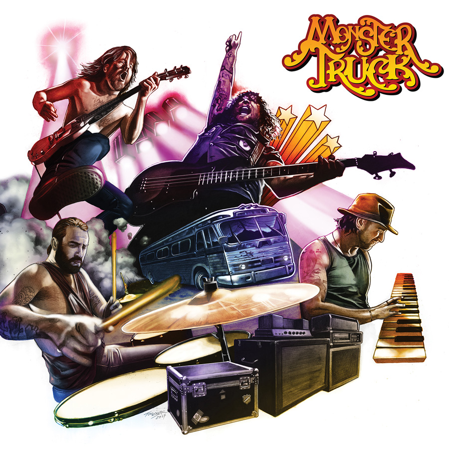 <h5>Monster Truck<br>True Rockers</h5>
