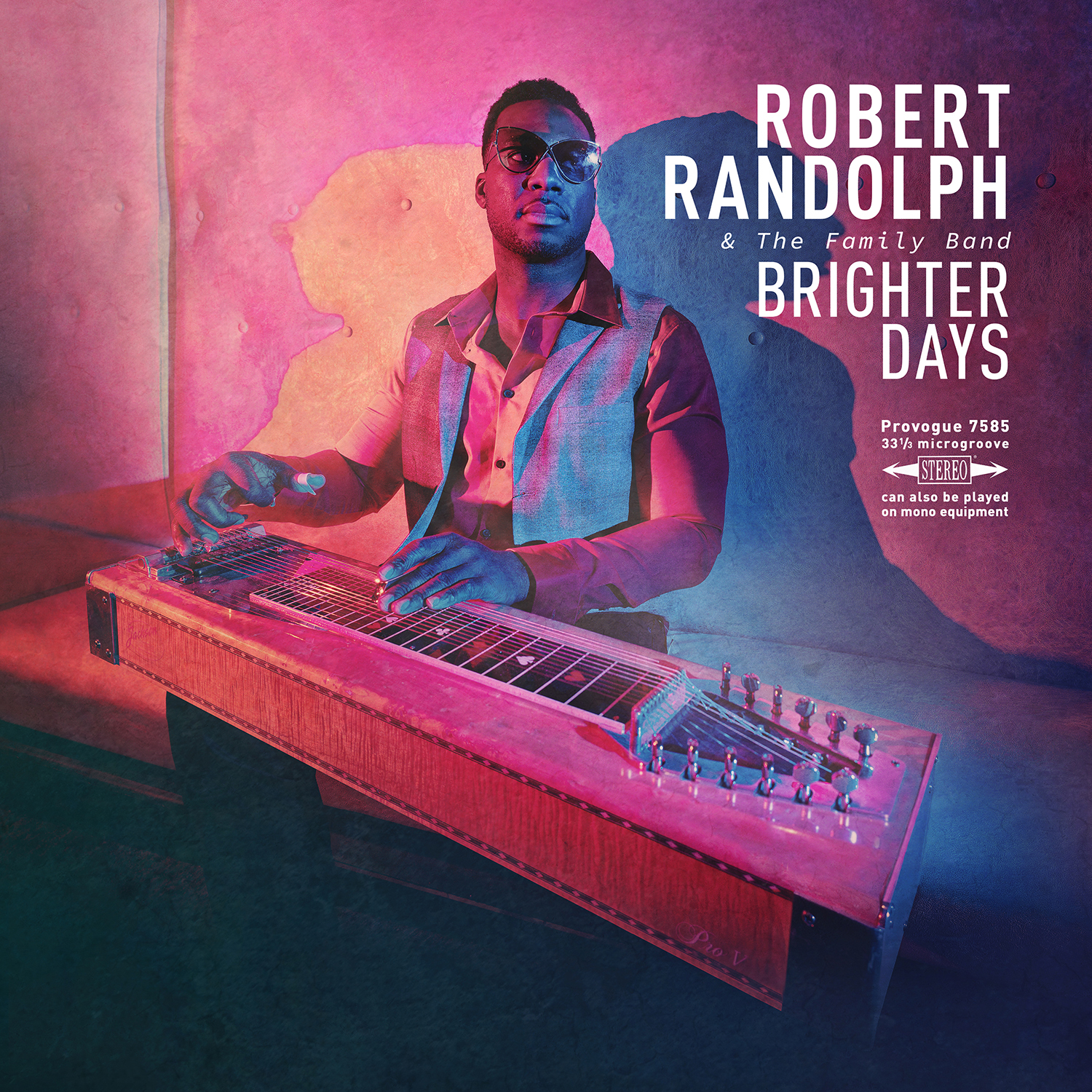 <h5>Robert Randolph <br>& The Family Band<br>Brighter Days</h5>